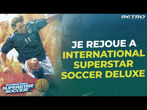 Rétro Football : Je rejoue à...ISS DELUUUUXE !