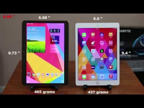 "iPad Air 2 vs Samsung Galaxy Tab S 10.5"" Full Comparison"