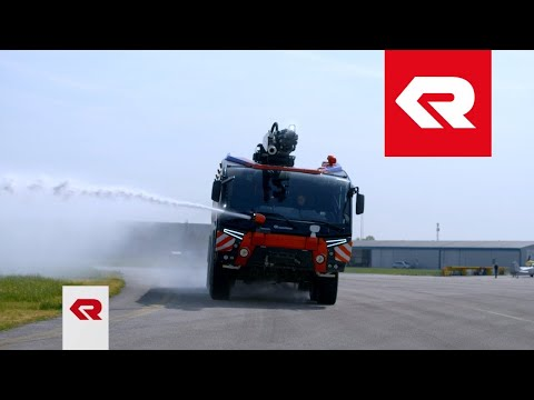 The PANTHER 8x8 on test drive - Rosenbauer