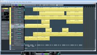 How to Make a Reggae Beat in Minutes (no commentary - Cubase 7)