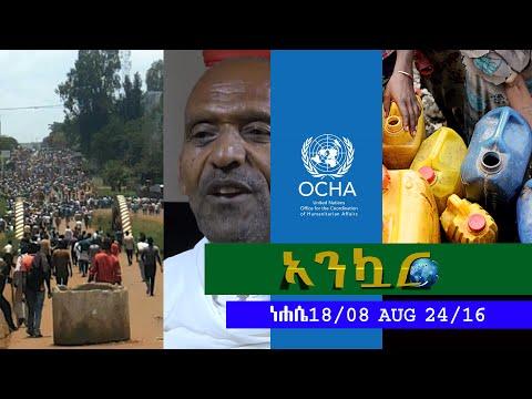 Ethiopia - Ankuar : አንኳር - Ethiopian Daily News Digest | August 24, 2016
