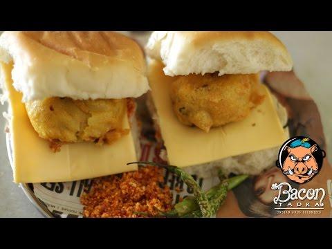 Delicious Bacon Vada Pav     Bacon Tadka   Ep. 1