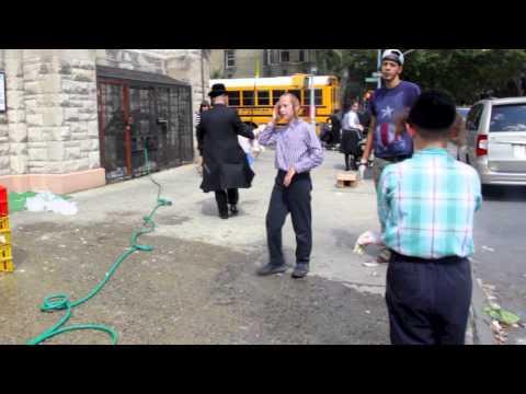 Kapparot in Williamsburg, Brooklyn 2013