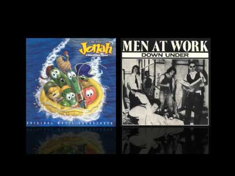 Down Under The Belly of a Whale (Newsboys/Men At Work Mashup)