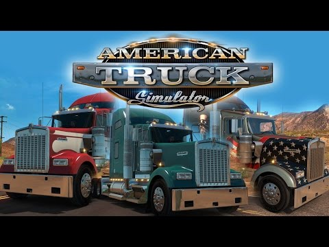 American Truck Simulator | Arizona & Nevada | Noob driving!