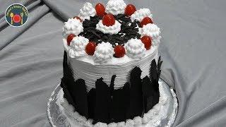 Eggless बिना ओवन और ओवन में - Black White Forest Cake - Seemas Smart Kitchen