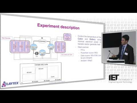 Thermal management strategies for integrated hybrid vehicle subsystems – IET - HEVC 2016