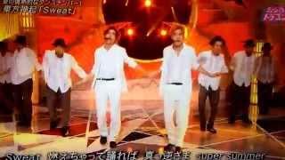 140607 ミュージックドラゴン (東方神起/SWEAT)