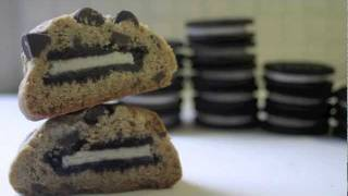 Oreo Stuffed Chocolate Chip Cookies! Thumbnail
