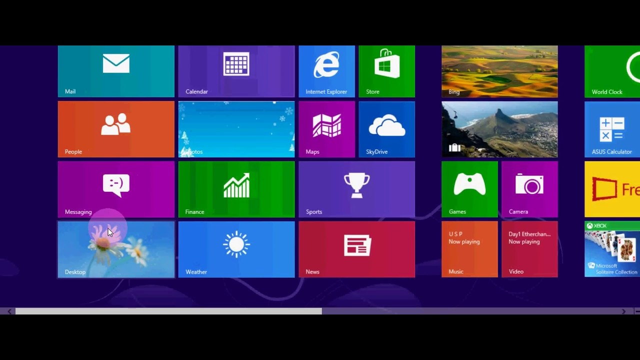 how to switch to desktop mode in windows 8 10 youtube