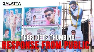Theri gets thumbing response from public
