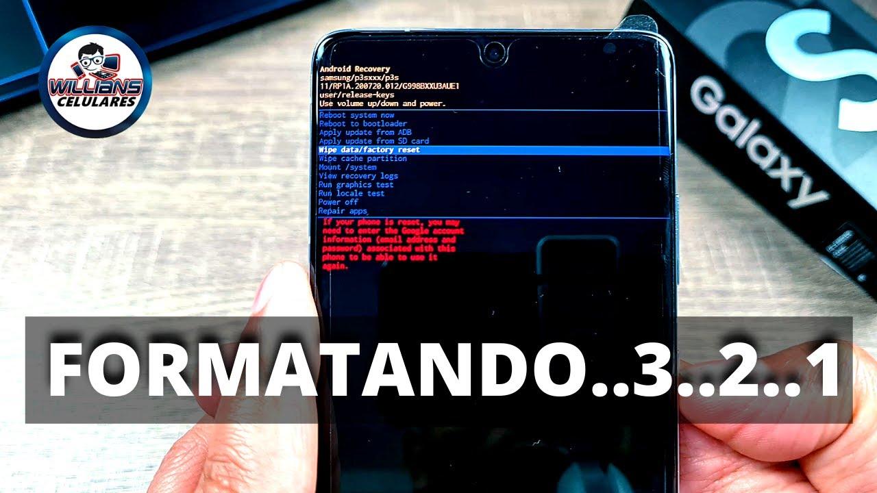 Hard Reset Samsung Galaxy S21, S21 Ultra, S21 Plus, S21 FE, Como Formatar, Desbloquear, Restaurar