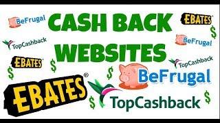Cash Back Websites with Online Shopping