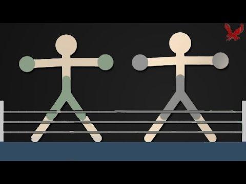 Stickman Warriors Gameplay Part 8 - Boxer Fight