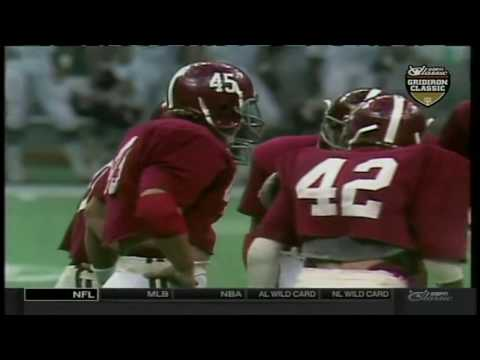 1980 Sugar Bowl - #6 Arkansas vs. #1 Alabama (HD)