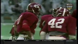 1980 Sugar Bowl - #6 Arkansas vs. #1 Alabama (HD)