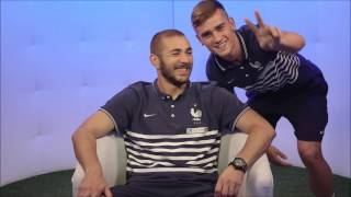 Antoine griezmann funny moments