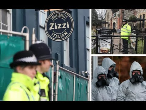 Salisbury diners warned to 'wash clothes' after nerve agent traces found