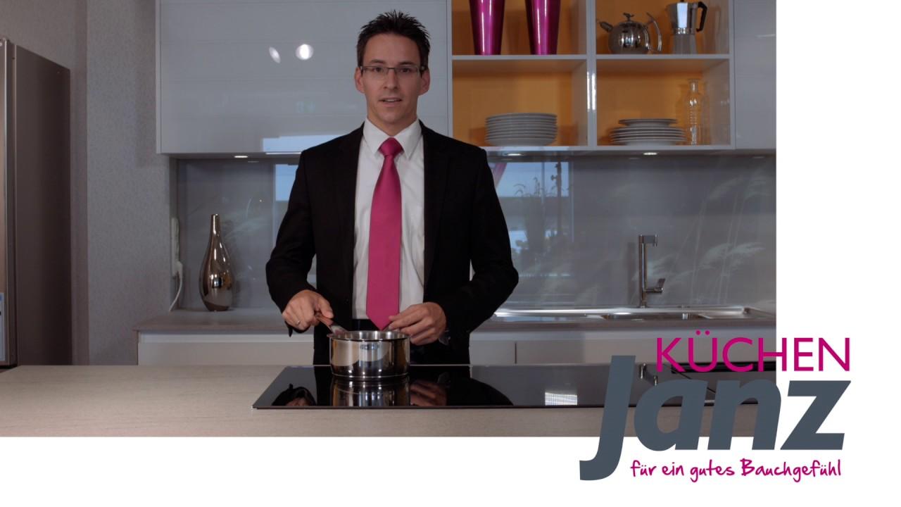 Kuchen Janz Induktions Kochfeld Youtube