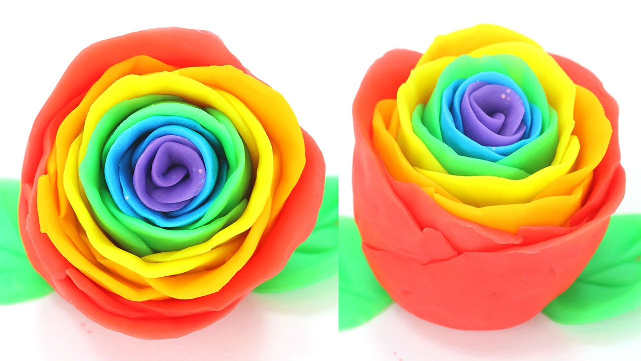 pictures How to Make a Rainbow Rose