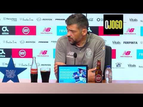 Sérgio Conceição elogia os sub-19 do FC Porto lembra Fábio Silva e abre porta a mais
