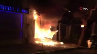 Bursa'da korkunç patlama