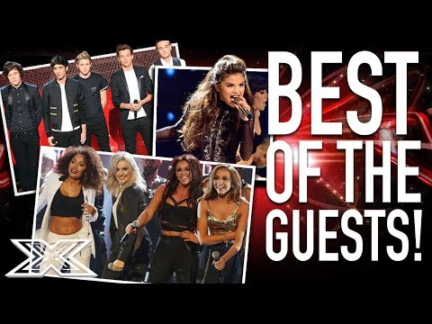 The BEST X Factor Guest Performances | One Direction, Selena