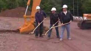 Case Construction Equipment Ground Breaking Ceremony