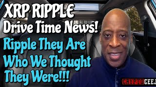 Xrp Ripple NEWS: Ripple they Are Who We Thought They Were!!!