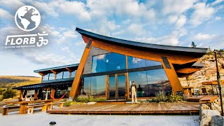 Man Builds Dream House from Recycled Timber