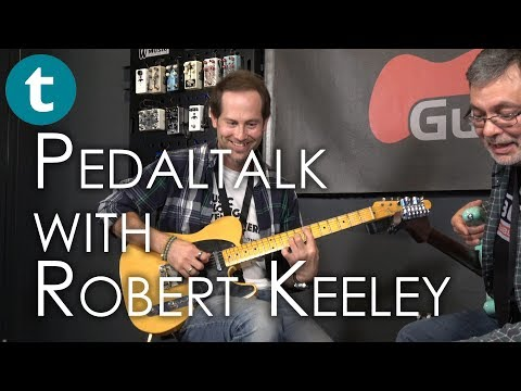 Keeley Engineering | Bubbletron, Caverns, D&M Drive | with Robert Keeley | Demo | GuitCon 2017