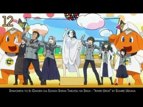 My Top Anime Endings Of Summer 2015