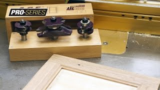 Building Ogee Raised Panel Doors With Amana Tool A.g.e. Pro Series Carbide Tipped Router Bit Set