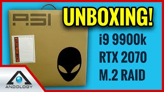 👽 Area 51m REVIEW UNBOXING  😍 [Part 1] Alienware Best Gaming Laptop 2019?