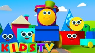 Build With Shapes | Shapes Train |  | Learning Shapes For Children | Kids TV