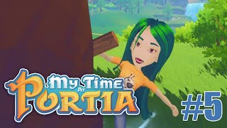 TREE-KICKING? - MY TIME AT PORTIA - LET'S PLAY #5