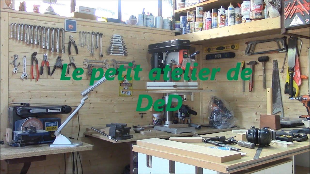 D fonceuse sous table 1 re partie youtube - Defonceuse sous table scheppach hf50 ...