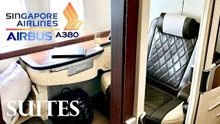 singapore airlines first class suites airbus a380 auckland to singapore review