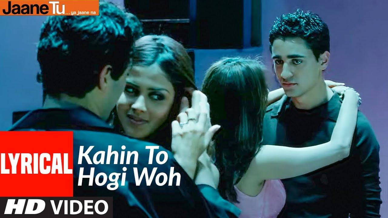 Download Lyrical : Kahin To Hogi Woh | Jaane Tu Ya Jaane Na | Imran Khan, Genelia D'Souza | A.R. Rahman