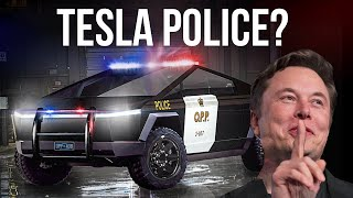 Tesla Police - Elon Musk's Secret Plan