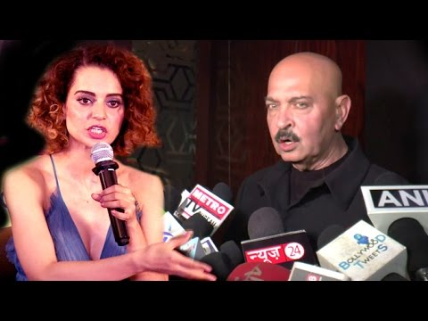 Hrithik Roshan Father's Mind Blowing Reply To Kangana Ranaut's INSULT