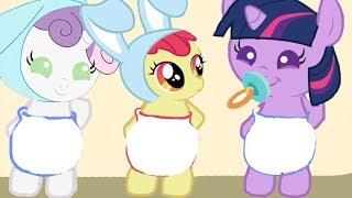 Растим Новых пони. Карманная пони. Мультик игра для детей. My little pony. дружба это чудо