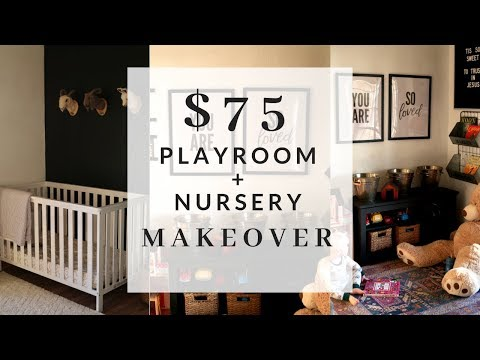 $75 Budget Playroom and Nursery Makeover