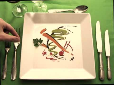 Platos con arte chart el gourmet youtube for Decoracion de platos gourmet pdf
