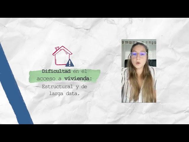 Problema habitacional en Argentina