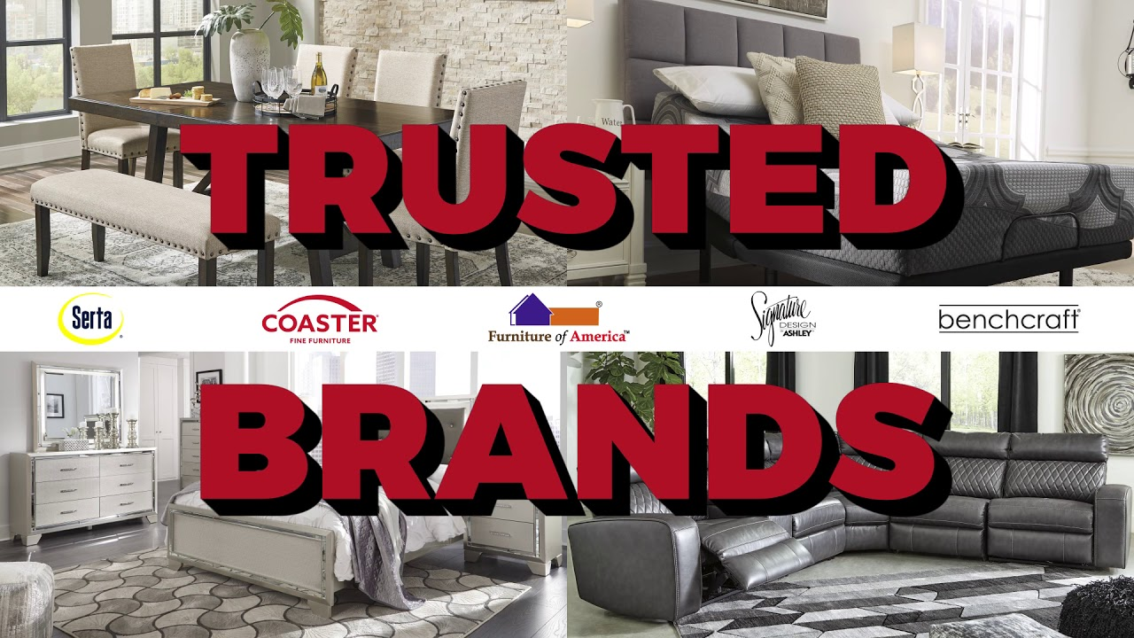 Find The Best Selection Of Brand Name Home Furnishings In