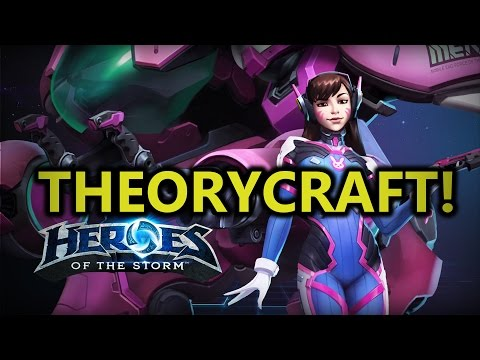 ♥ Heroes of the Storm - D.va First Impressions & Theorycrafting