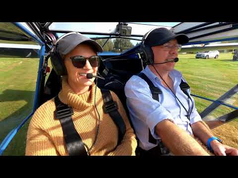 Flight to Kittyhawk in a EuroFOX Light Aircraft