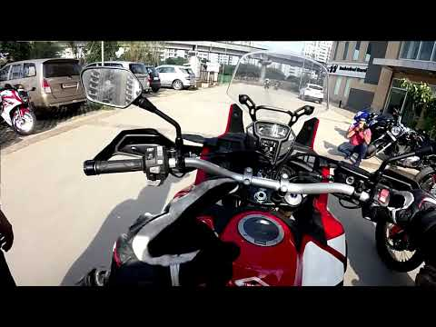 ITS BRILLIANT!! TEST RIDING THE AFRICA TWIN 2017. VLOG 07