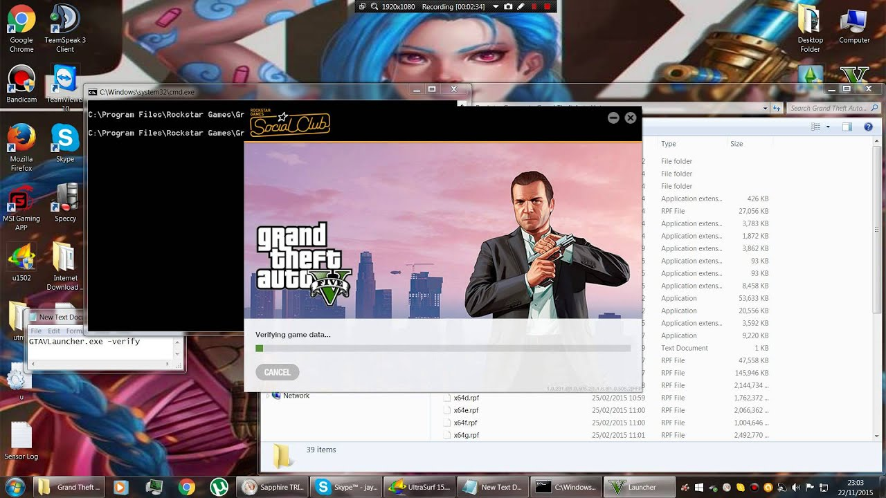 GTA 5 PC how to verify game files - YouTube